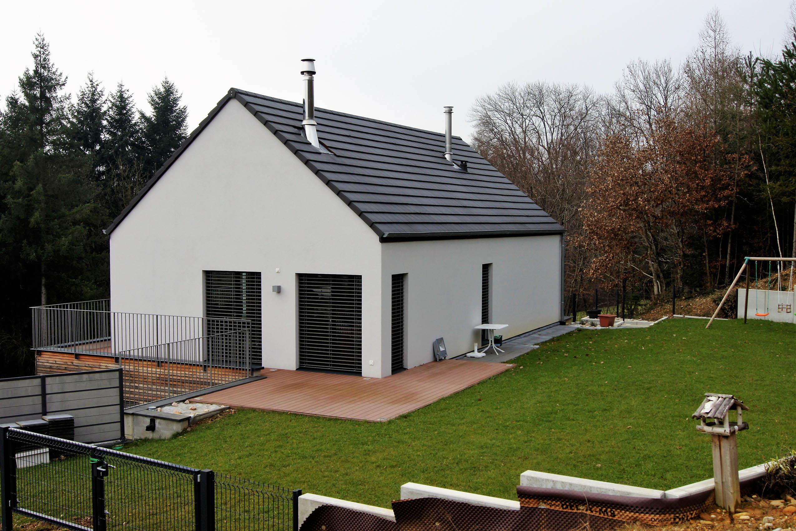 constructeur maison contemporaine alsace