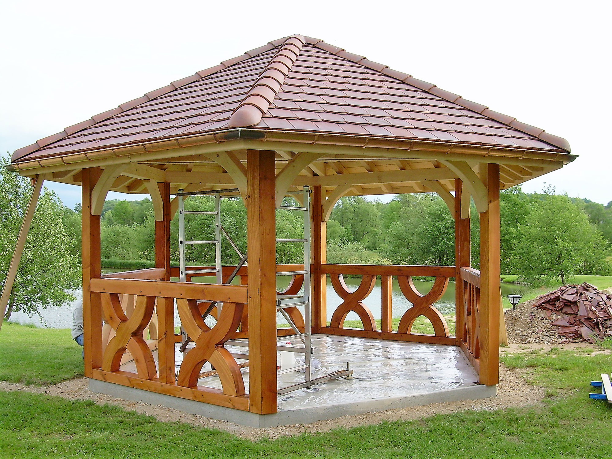 Lutz Fabricant De Garages Abris Constructions Bois En Alsace  # Abris De Jardin Atelier