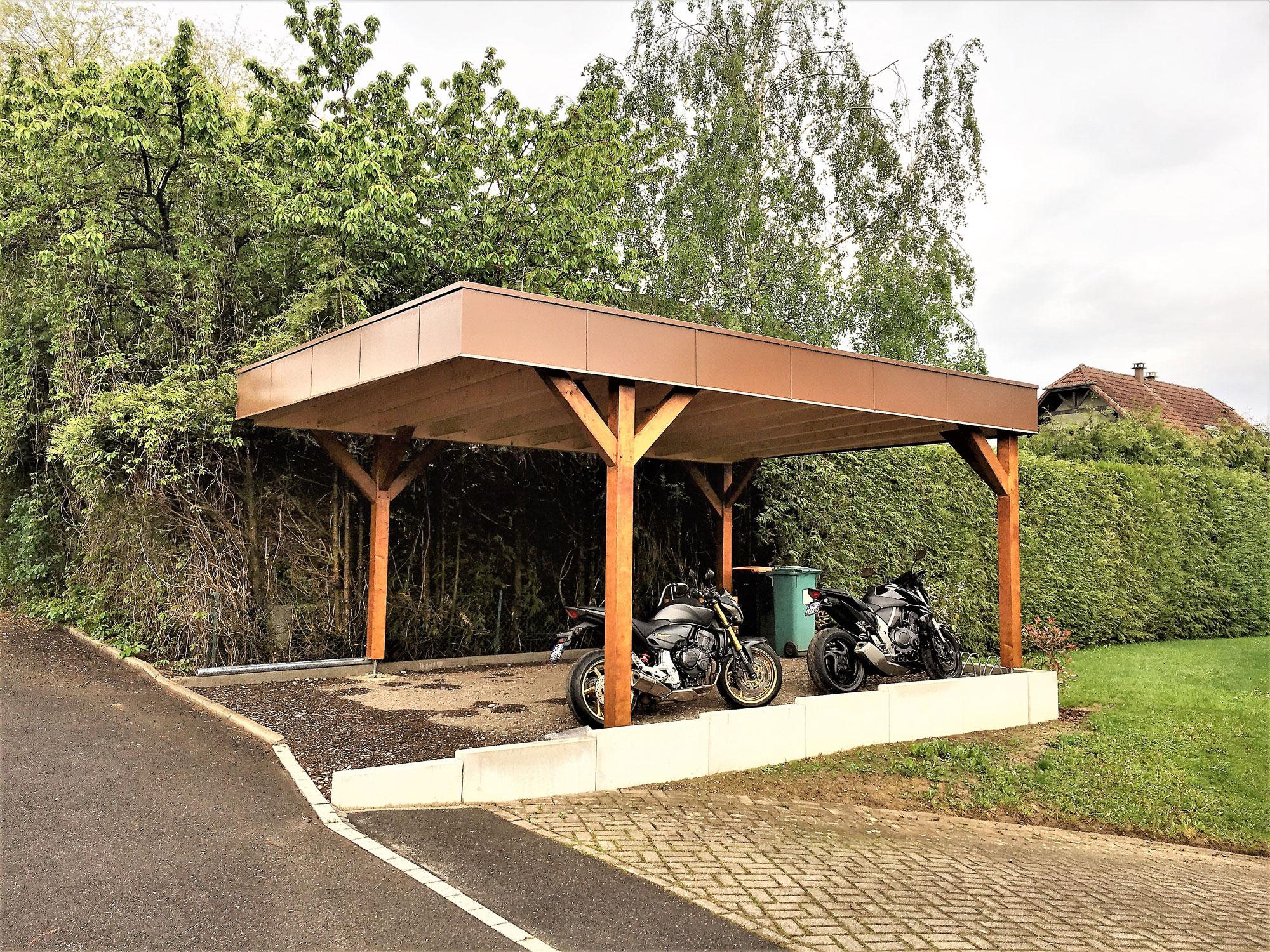 fabricant de garages en bois et de carport en alsace maisons bois lutz. Black Bedroom Furniture Sets. Home Design Ideas