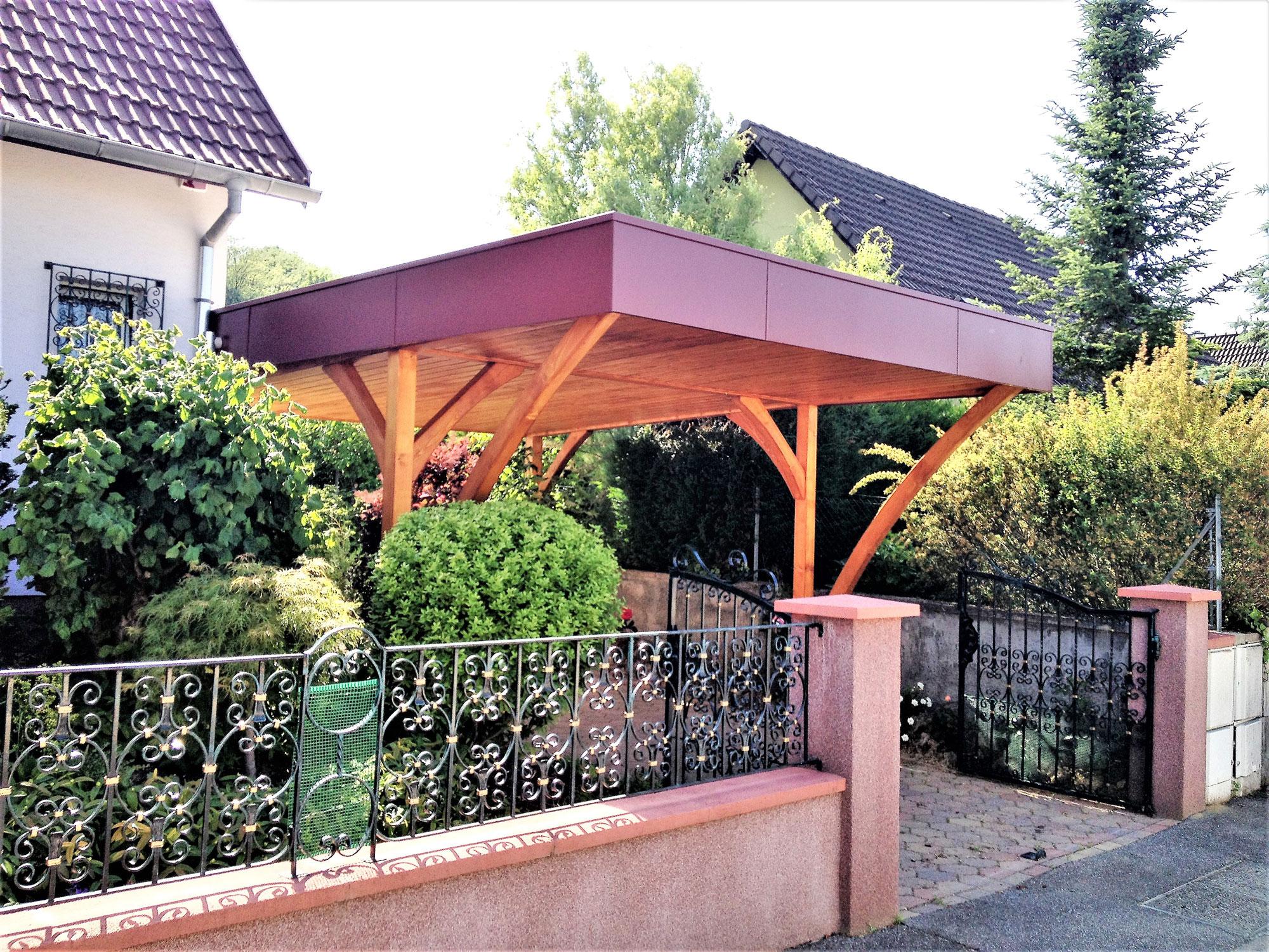 Fabricant Carport Bois - Fabricant de garages en bois et de carport en Alsace Maisons bois LUTZ