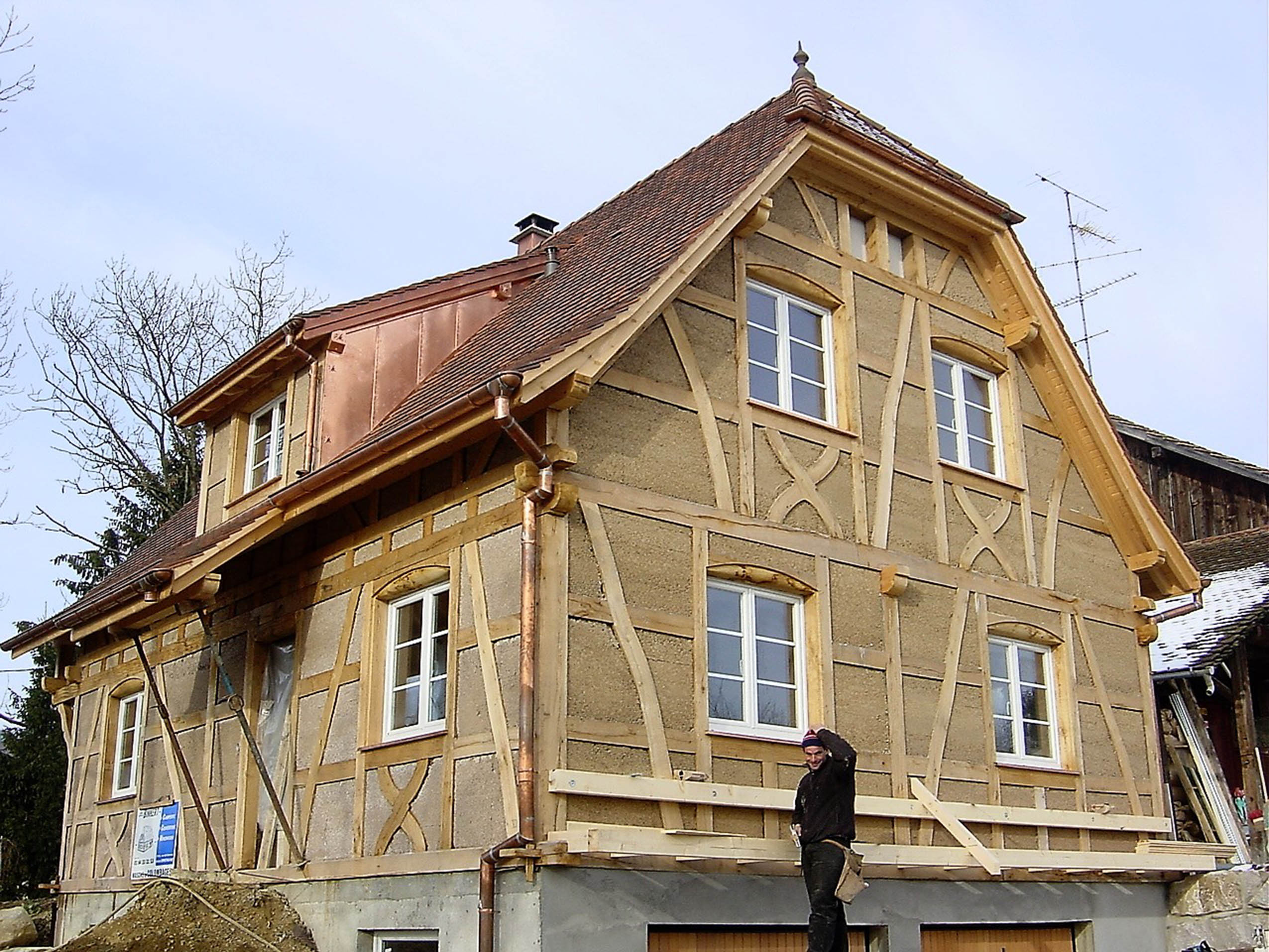 Construction maison originale for Maison neuve originale