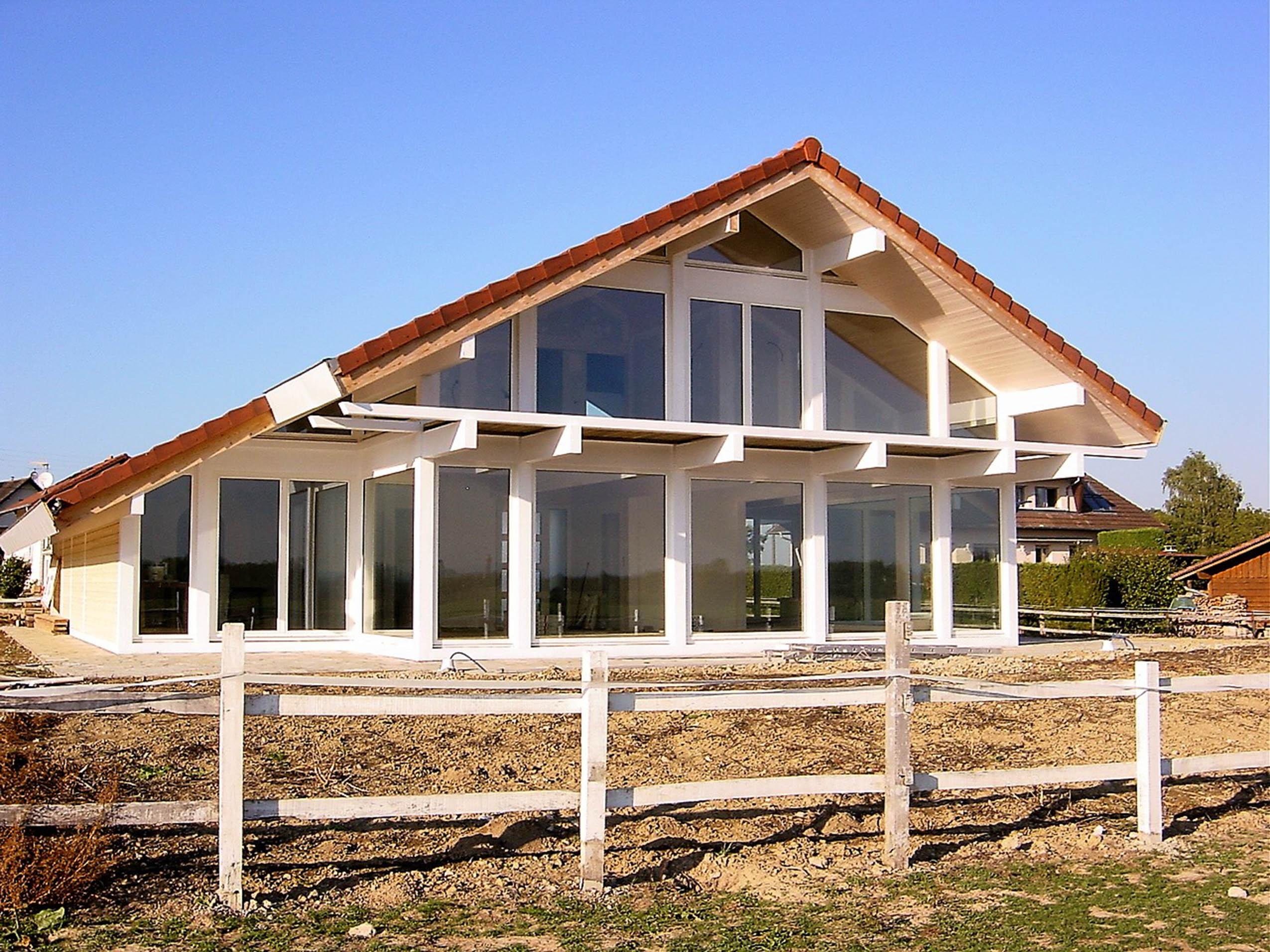 Constructeur maison bois alsace for Maison en bois alsace