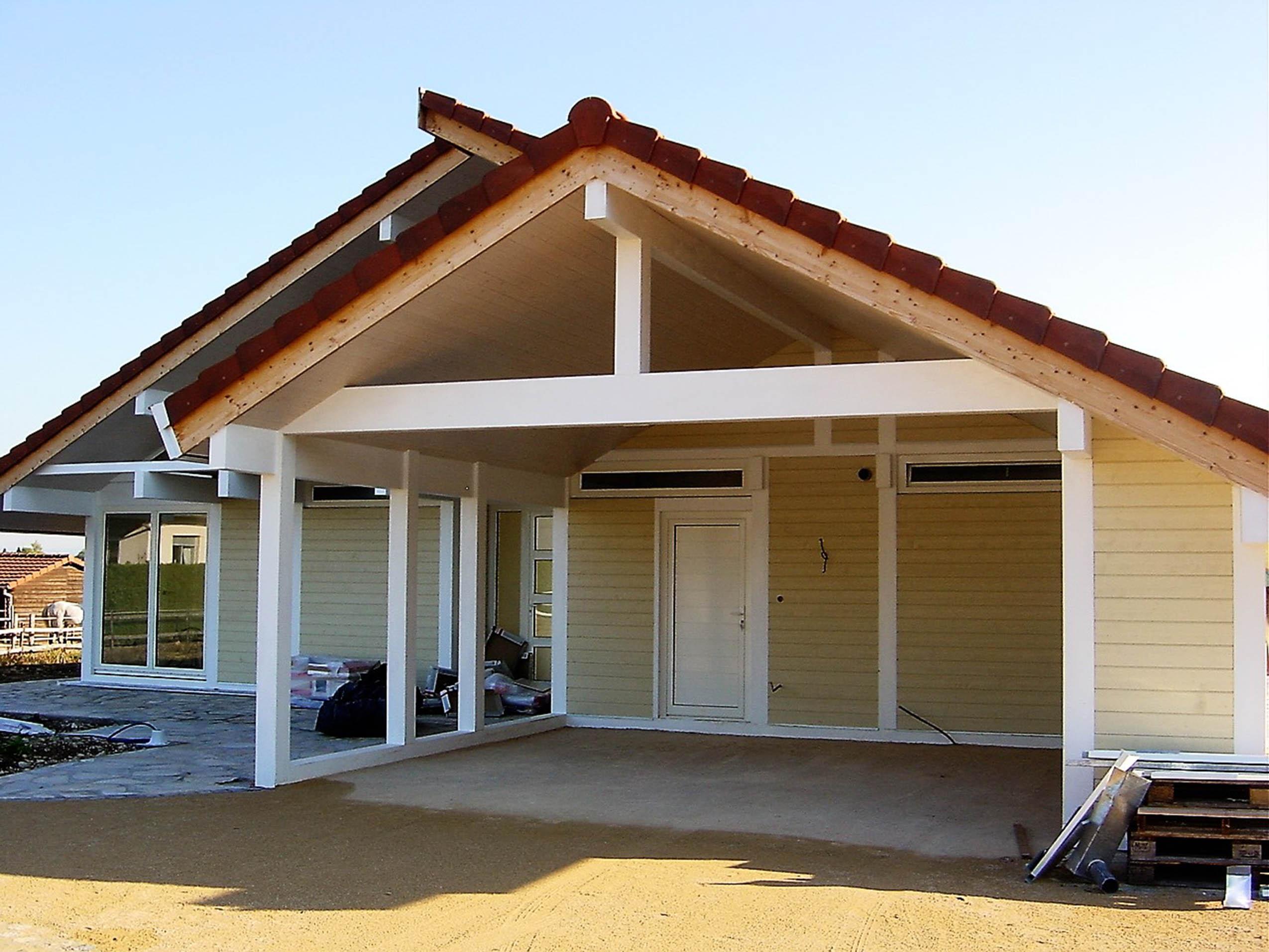 construction d 39 une maison ossature bois classique foussemagne dans le territoire de belfort. Black Bedroom Furniture Sets. Home Design Ideas