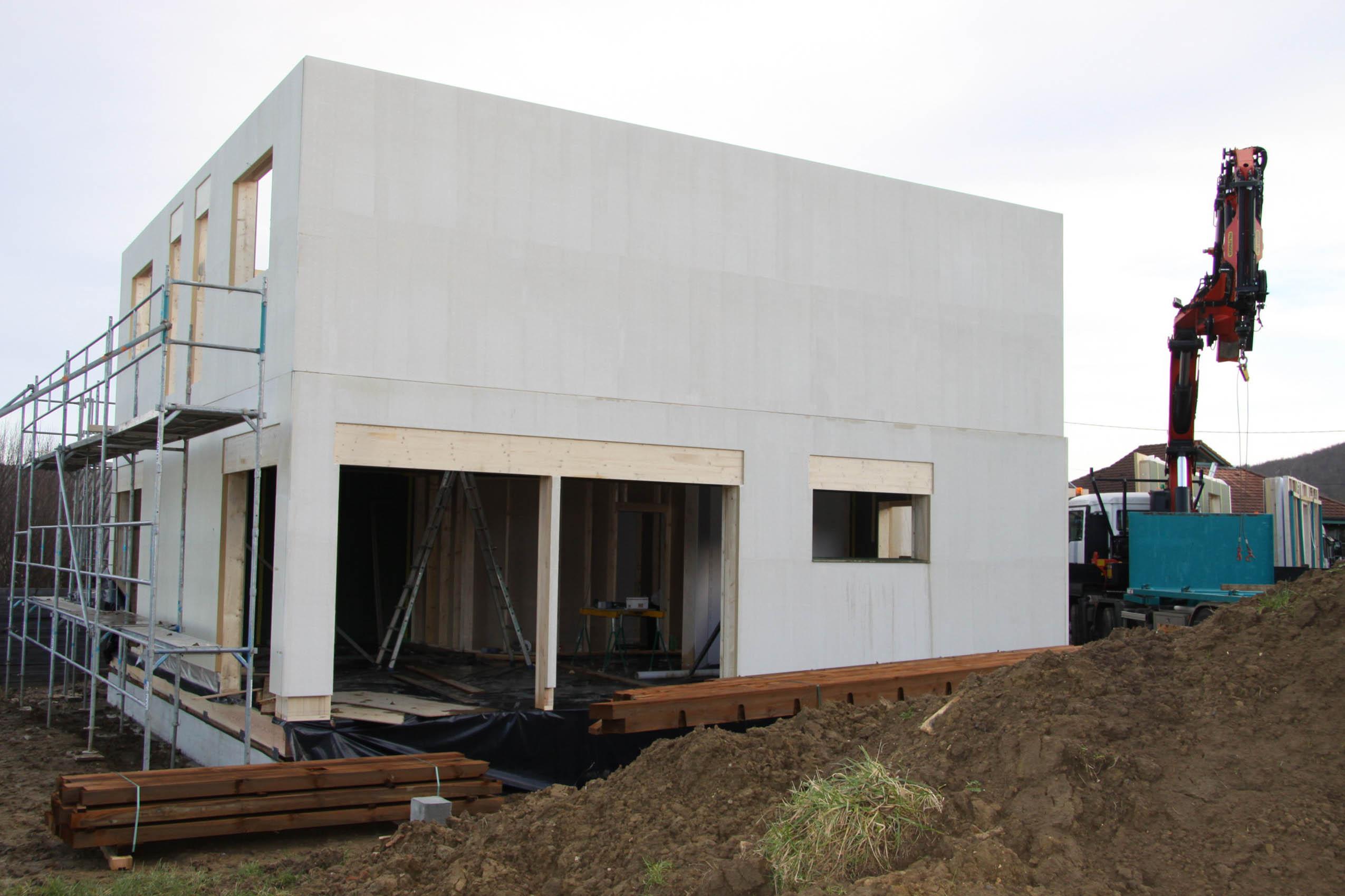 Maison moderne alsace great maison alsace maison moderne for Maison en bois alsace