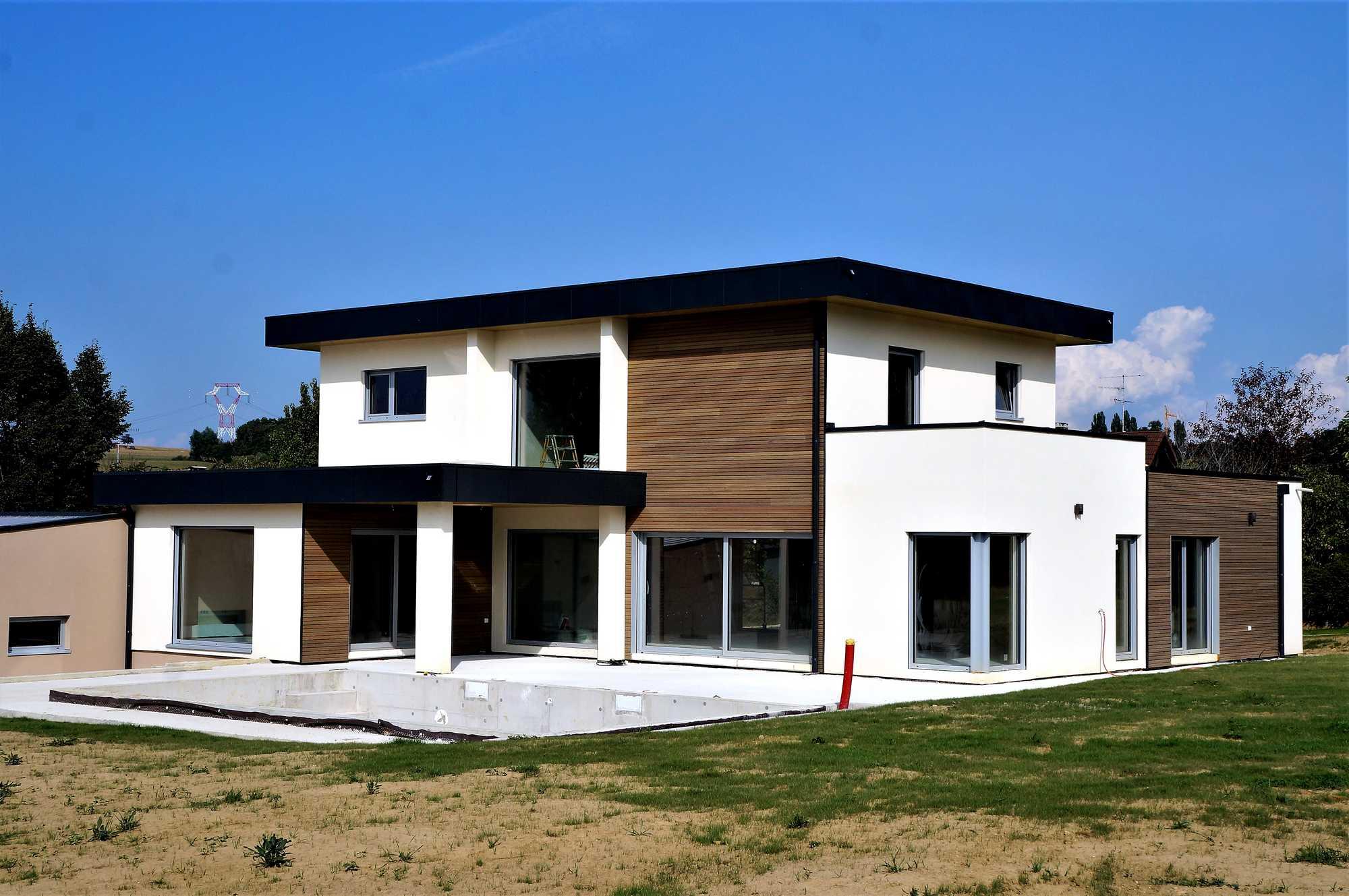 Cout d une maison ossature bois en autoconstructio for Cout construction maison 100m2